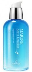 THE SKIN HOUSE Эмульсия для лица с керамидами MARINE ACTIVE, 130 мл822715Эмульсия для лица с керамидами, 130млГиалуроновая кислота и керамид III увлажняют и укрепляют кожу, благодаря чему эмульсия питает и насыщает влагой даже глубокие слои кожи. А за счет содержания глубоководной воды и экстракта морских водорослей, кожа быстрее впитывает и поглощает питательные вещества, заряжаясь силой и энергия, становясь увлажненной и сияющей. Эмульсия быстро впитывается, без ощущения липкости, оставляя после себя чувство свежести в течении долгого времени.