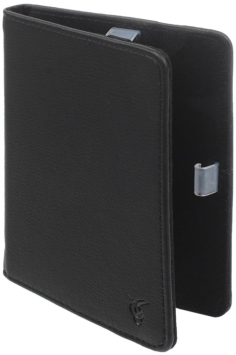 Vivacase Basic чехол для Reader Book 2, BlackVRD-B2BS01-blЧехол Vivacase Basic предназначен для защиты электронной книги Reader Book 2 от механических повреждений и влаги. Мягкие резиновые крепления позволяют надежно зафиксировать устройство.