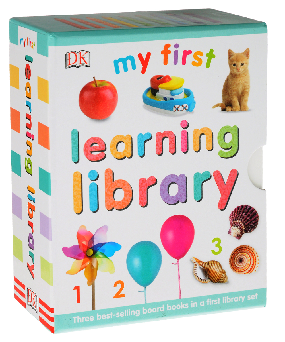 My First Learning Library (комплект из 3 книг) davis sarah sirett dawn my first learning library box my first world abc numbers hb