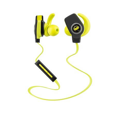 Monster iSport SuperSlim In-Ear, Green Bluetooth-гарнитура