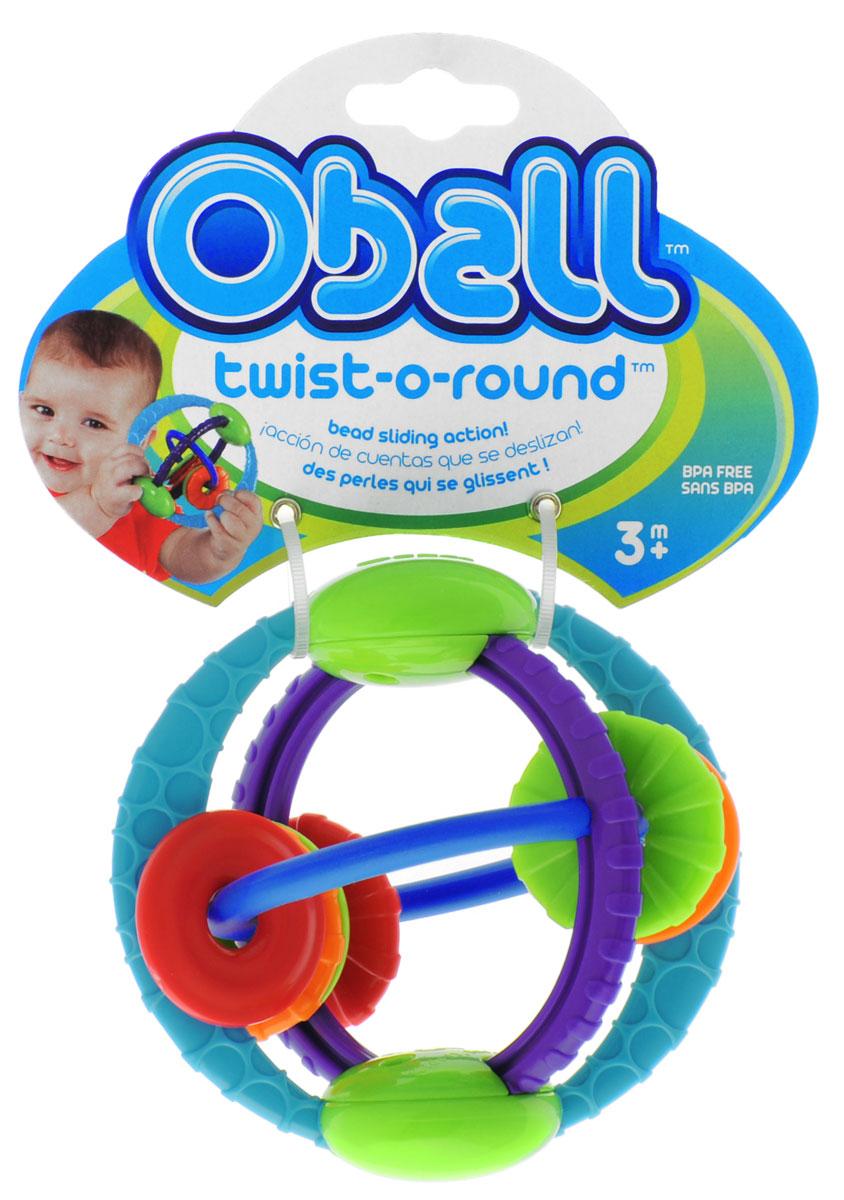 Oball Развивающая игрушка Twist-O-Round развивающая игрушка paremo скользящие кольца