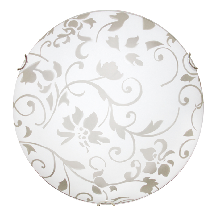 Светильник настенно-потолочный Arte Lamp OrnamentA4120PL-3CCСветильник Arte Lamp Ornament изготовлен из качественных материалов. Особый тип крепления позволяет устанавливать его как на потолке, так и на стене. Поэтому, купив его, у вас всегда будет возможность освежить обстановку, просто изменив расположение светильника. Лаконичный и ненавязчивый дизайн изделия, оформленный в рамках популярного современного стиля, позволяет использовать его практически в любом интерьере - везде он будет смотреться аккуратно и уместно. Особенно актуальным будет установка данной модели в прихожей, кафе или на кухне. Для производства использовались материалы высокого качества: металл - для корпуса, стекло - для плафона. Функциональность светильника, в том числе, находится на достойном уровне. Мощность в 180 Вт позволяет создавать освещение на площади размером до 9 квадратных метров. При этом используются лампы с цоколем 3хE27.