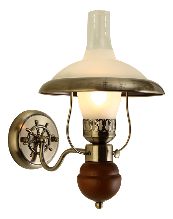Светильник настенный Arte Lamp Capanna. A4533AP-1ABA4533AP-1ABСветильник Arte Lamp Capanna поможет создать в вашем доме атмосферу уюта и комфорта. Благодаря высококачественным материалам он практичен в использовании и отлично работает на протяжении долгого периода времени. Цоколь: Е27, 1х60 Ватт. Пылевлагозащита IP20.