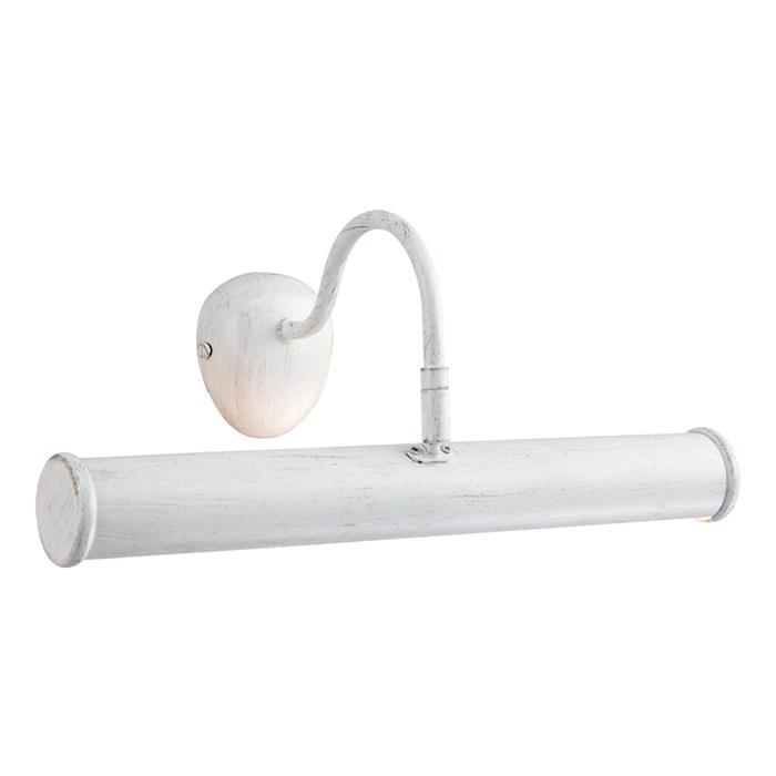 Светильник настенный Arte Lamp Picture Lights. A5023AP-2WGA5023AP-2WGСветильник Arte Lamp Picture Lights поможет создать в вашем доме атмосферу уюта и комфорта. Благодаря высококачественным материалам он практичен в использовании и отлично работает на протяжении долгого периода времени. Цоколь: Е14, 2х40 Ватт.