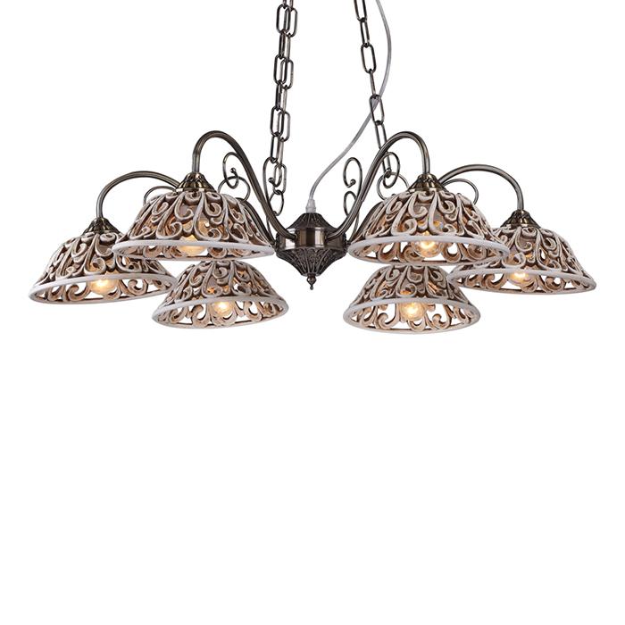 Светильник подвесной Arte Lamp CARVED A5387LM-6AB