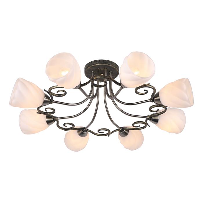 Светильник потолочный Arte Lamp SWIRLS A6253PL-8BAA6253PL-8BA