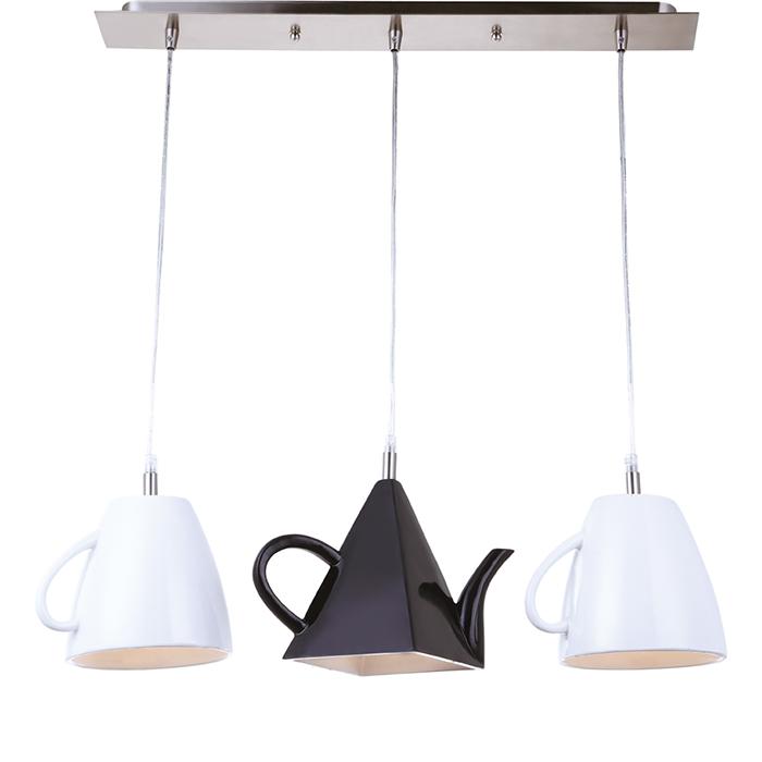 Светильник подвесной Arte Lamp Brooklyn. A6604SP-3WH подвес arte lamp brooklyn 3x40вт e14 металл металл