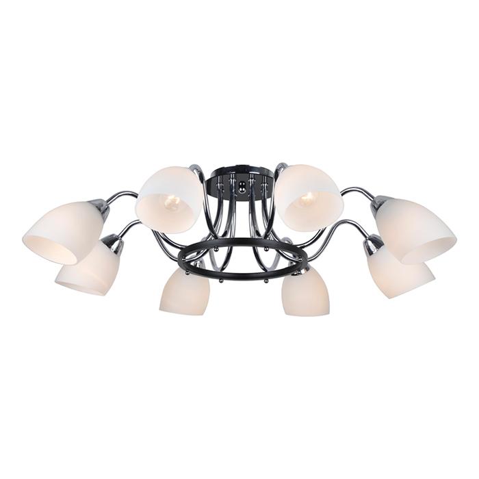 Светильник потолочный Arte Lamp Fiorentino A7144PL-8BK ступень exagres taiga cartabon fiorentino abedul izquerdo 33x33