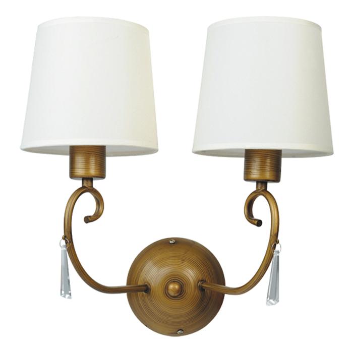 Светильник настенный Arte Lamp Carolina A9239AP-2BRA9239AP-2BR