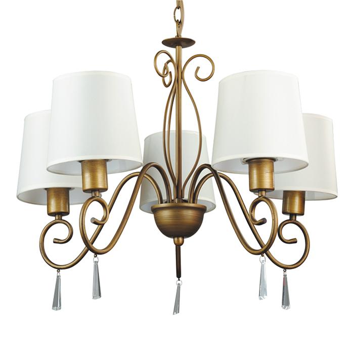 Светильник подвесной Arte Lamp Carolina A9239LM-5BR люстра на штанге arte lamp aroma a6582pl 5br
