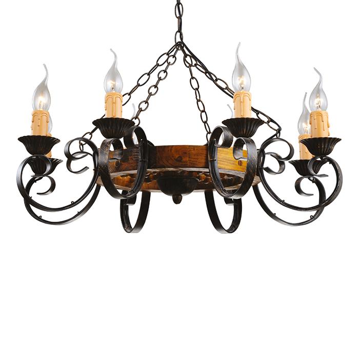 Светильник подвесной Arte Lamp Taverna A9520LM-8BRA9520LM-8BR