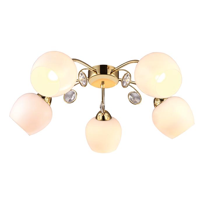 Светильник потолочный Arte Lamp MILLO A9549PL-5GO люстра на штанге arte lamp modello a6119pl 5go