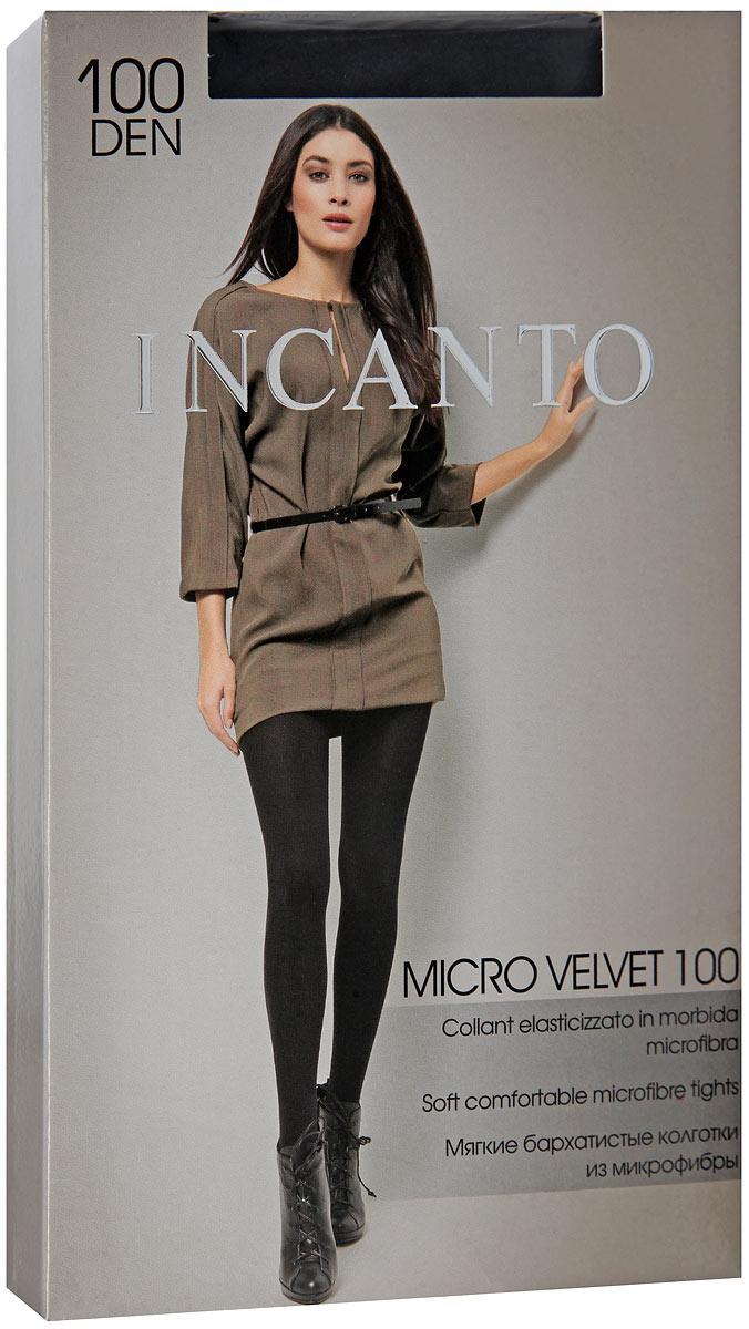 Колготки Incanto MicroVelvet 100, цвет: Nero (черный). Размер 5