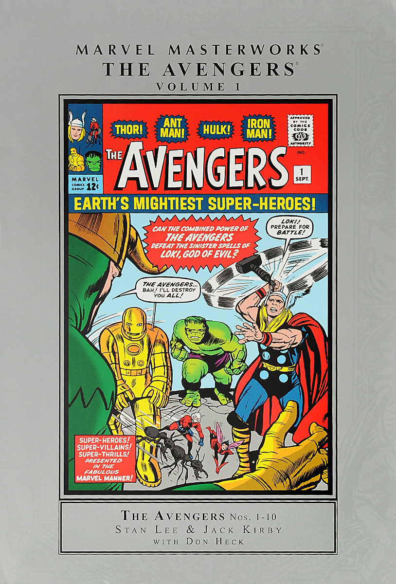 Marvel Masterworks: The Avengers: Volume 1 bela 10241 super heroes avengers hulk lab smash set with taskmaster falcon hulk thor turret robot modok action figure toys