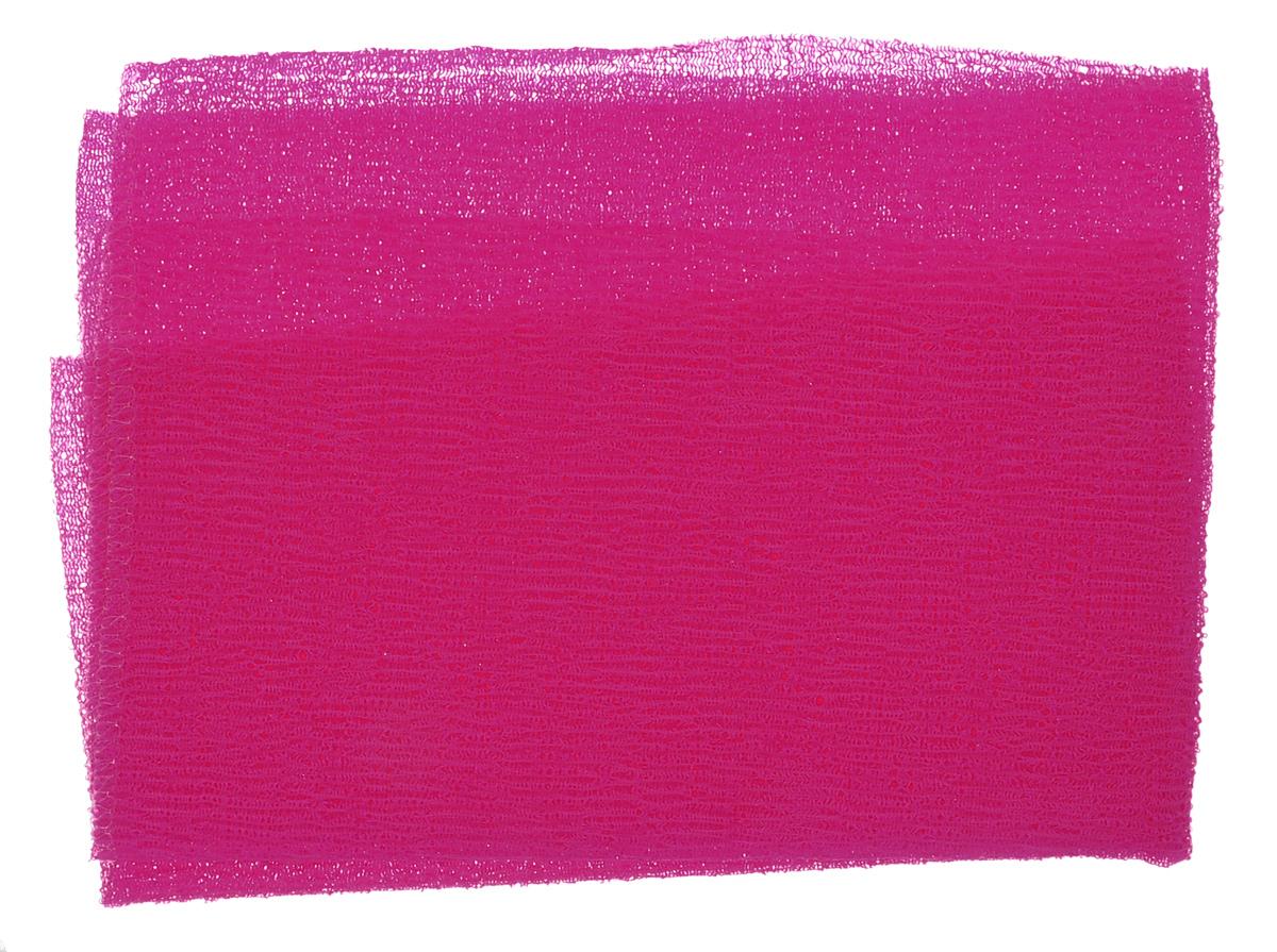 Мочалка-полотенце массажная Eva, цвет: малиновый, 90 см х 30 смМ341_малиновыйМочалка-полотенце массажная Eva, изготовленная из скраб-нейлона (многоволокнистой нейлоновой нити с объемным плетением), обладает высоким массажным эффектом. Мочалка с самым высоким уровнем жесткости обладает эффектом скраба, кожа становится чистой, упругой и свежей. Идеальна для профилактики и борьбы с целлюлитом.