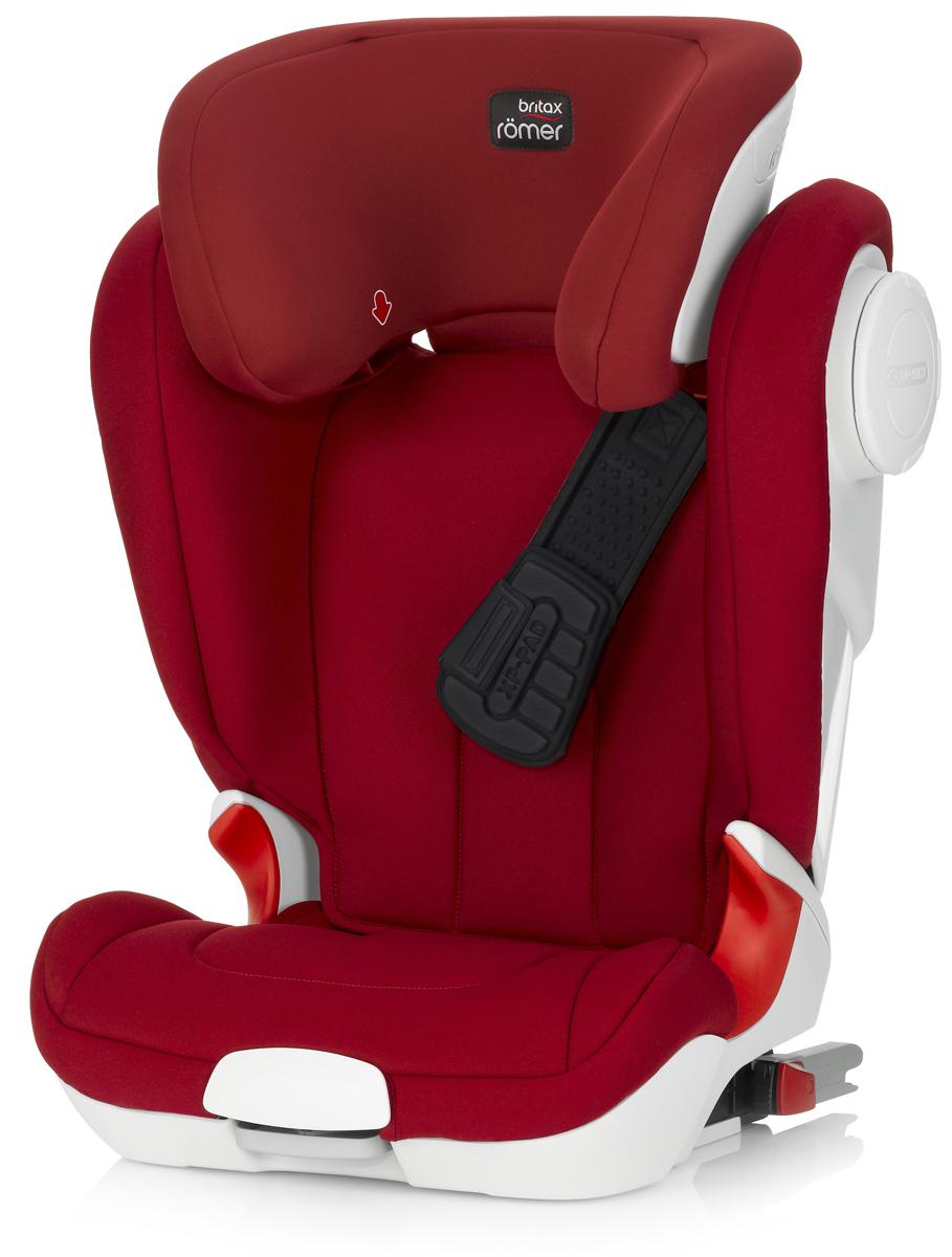 Romer Автокресло Kidfix XP SICT Flame Red от 15 до 36 кг romer автокресло king ii ls green marble от 9 до 18 кг