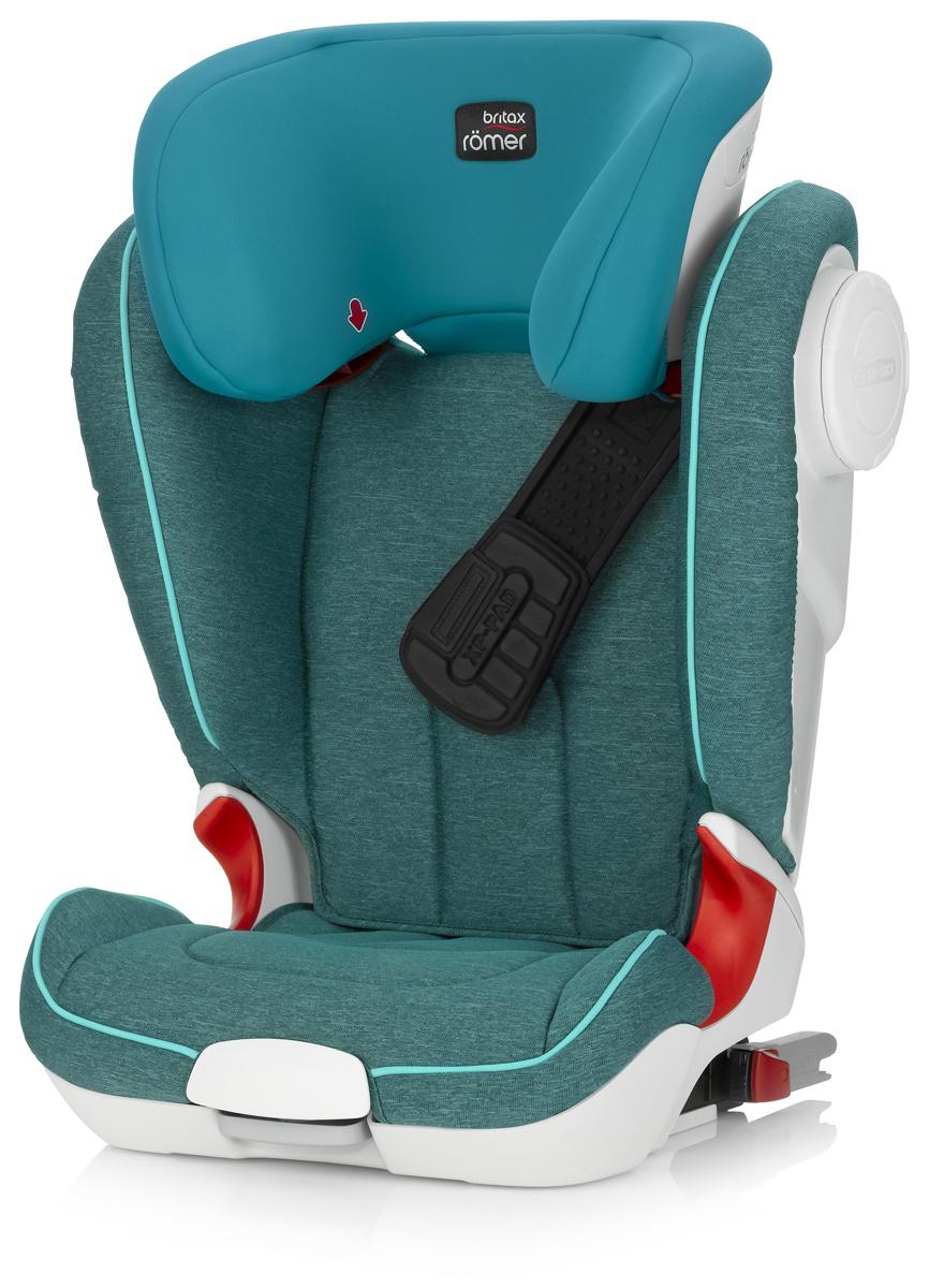 Romer Автокресло Kidfix XP SICT Green Marble от 15 до 36 кг2000022454Автокресло Romer Kidfix XP SICT Ocean Blue группы 2-3 предназначено для детей весом от 15 до 36 кг (от 4 до 12 лет).Установка по направлению движения автомобиля. Регулируемая боковая защита SICT. Система безопасности XP-PAD устанавливает новые стандарты безопасности для группы 2-3: в случае фронтального удара, она принимает на себя на 30% больше энергии удара (в сравнении со штатным 3-точечным ремнем автомобиля) и снижает нагрузку на шейные позвонки ребенка. Глубокие, высокие и мягкие боковины обеспечивают оптимальную защиту от боковых ударов. Устанавливается в любой машине с помощью ISOFIT или штатного ремня автомобиля. V-образная форма спинки для еще большего комфорта. Регулировка подголовника (по высоте) и верхней направляющей одним движением. Интуитивно понятное расположение направляющих штатного ремня (для быстрого и правильного монтажа ремней). Быстросъемный мягкий чехол можно стирать при температуре 30°.Благодаря особому дизайну кресло стало еще более просторным. Удлиненные коннекторы ISOFIX: спинка детского кресла удобно прилегает к спинке автомобильного сиденья независимо от того, как глубоко расположены скобы ISOFIX. Технология предотвращения вращения ISOFIX: коннекторы всегда находятся в правильном положении. Дополнительная защита благодаря технологии SecureGuard, которая при соединении со штатным ремнем автомобиля создает 4-ую точку крепления и помогает до 35% уменьшить воздействие сил удара на область живота при лобовом столкновении.
