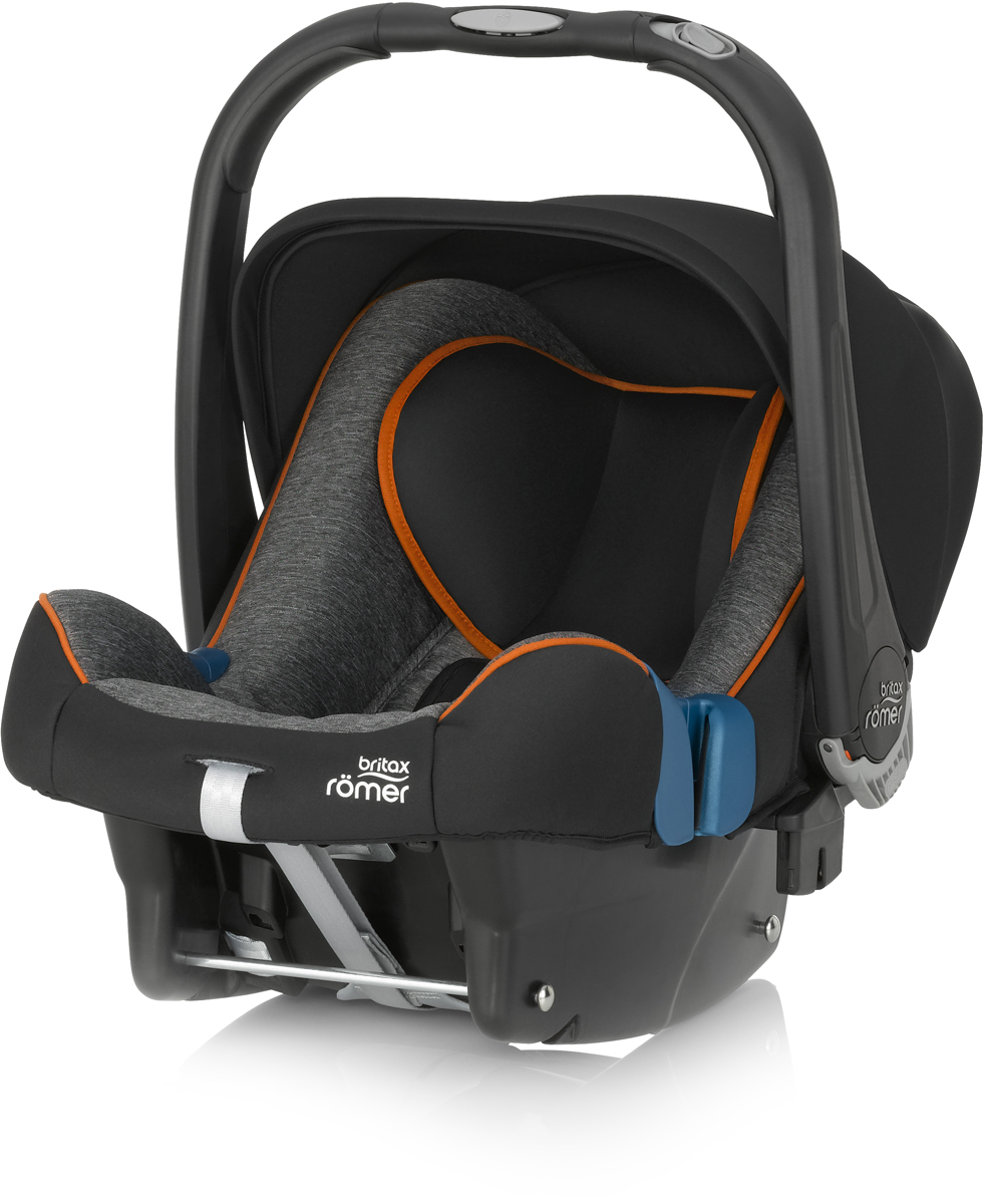 Romer Автокресло Baby-Safe Plus SHR II Black Marble до 13 кг romer автокресло king ii ls green marble от 9 до 18 кг