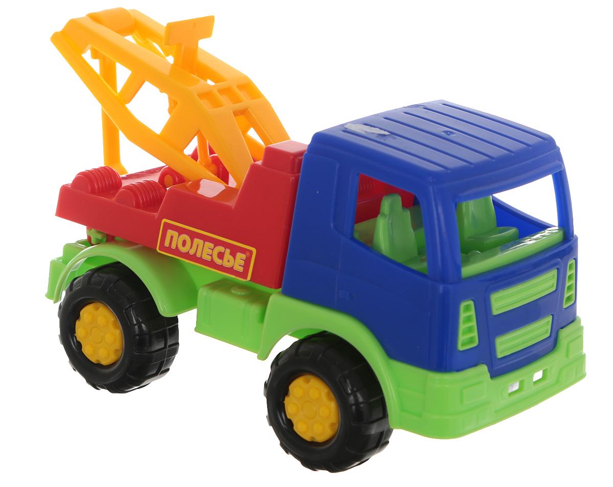 Полесье Автомобиль-эвакуатор Тема цвет синий красный желтый полесье гоночный автомобиль торнадо цвет желтый