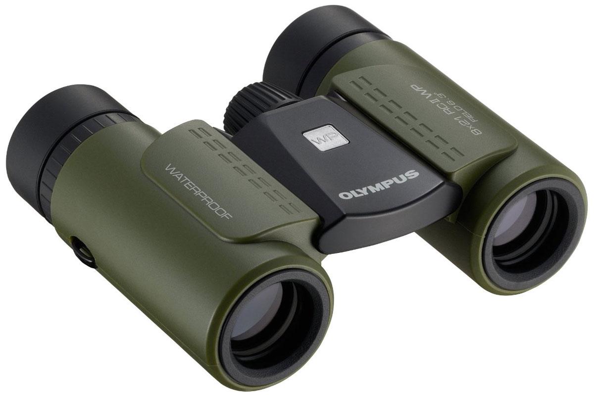 Olympus 10x21 RC II WP, Green бинокль бинокль olympus rc ii wp 8x21 dark green
