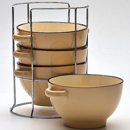 Набор супниц Mayer & Boch, с подставкой, 420 мл, диаметр 13,5 см. 22579 набор супниц mayer