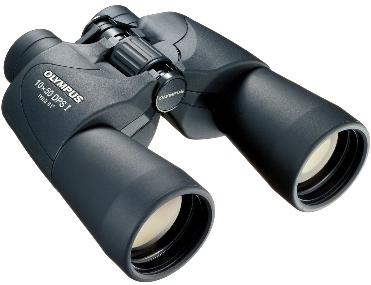 Olympus 10x50 DPS-I, Black бинокль бинокль olympus 8x25 wp ii пурпурный