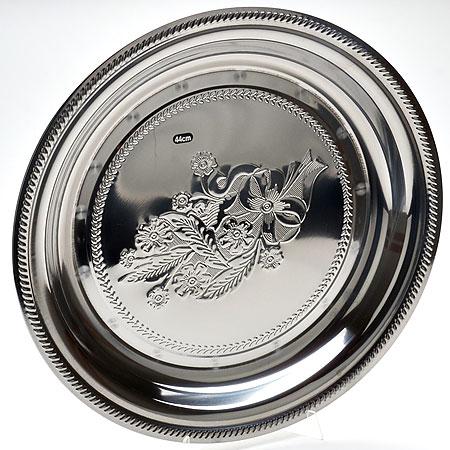 Поднос Mayer & Boch, круглый, диаметр 55 см 55 018барабан джембе резной гана 100 см