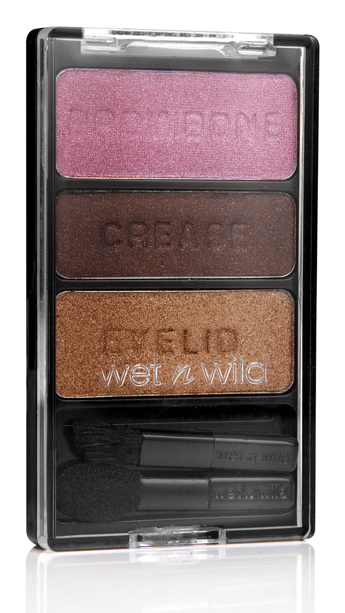 Wet n Wild Тени Для Век Трио Color Icon Eyeshadow Trio `m getting sunburned 4 гр