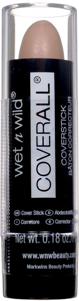 Wet n Wild Корректор Стик Coverall Concealer Stick light 5 грE801Маскирует любые недостатки кожи.Аккуратно нанести на лицо с помощью спонжа или кисти.