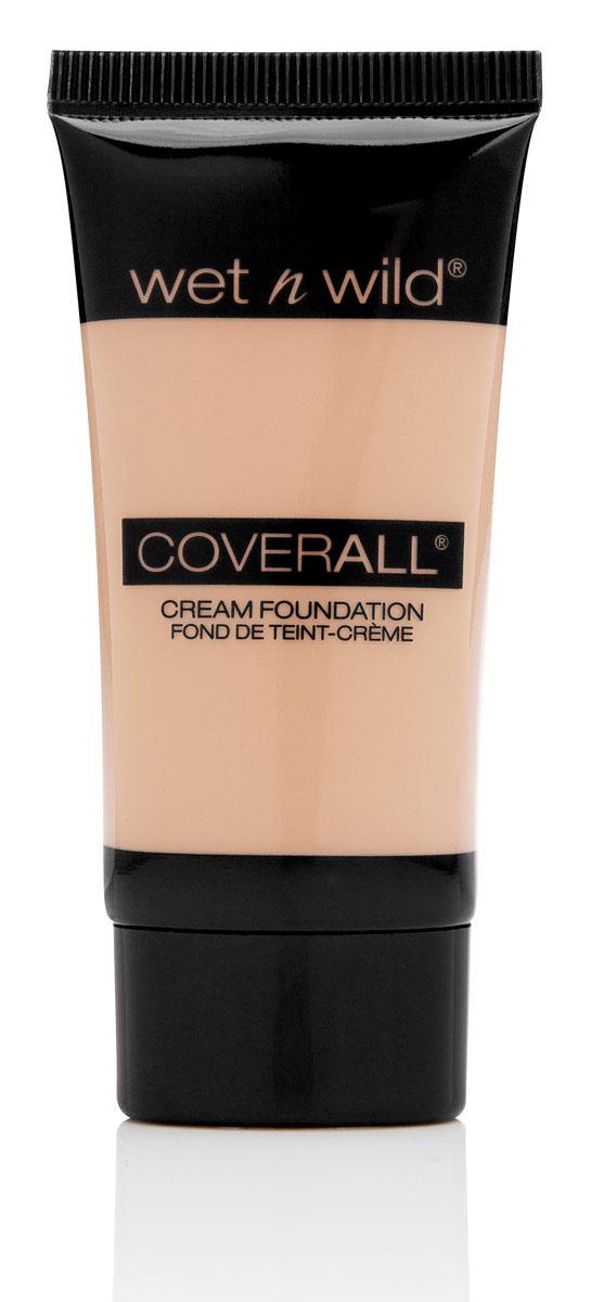 Wet n Wild Тональный крем Coverall, тон Fair Light, 30 млE816Тональная основа , легкая текстура, не закупоривает поры, выравнивает тон кожи. Аккуратно нанести на лицо с помощью спонжа или кисти.