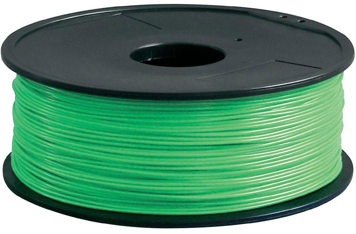 ESUN PLA-пластик в катушке, Light Green (PLA175V1)PLA175V1Пластик PLA в катушке от ESUN долговечный и очень прочный полимер, ударопрочный, эластичный и стойкий к моющим средствам и щелочам. Один из лучших материалов для печати на 3D принтере. Пластик не токсичен и экологически чист. Температура плавления 190 - 220°C - ниже, чем у других материалов. PLA пластик для 3D - принтера применяется в деталях автомобилей, канцелярских изделиях, корпусах бытовой техники, мебели, сантехники, а также в производстве игрушек, сувениров, спортивного инвентаря, деталей оружия, медицинского оборудования и прочего. Диаметр нити: 1,75 мм.