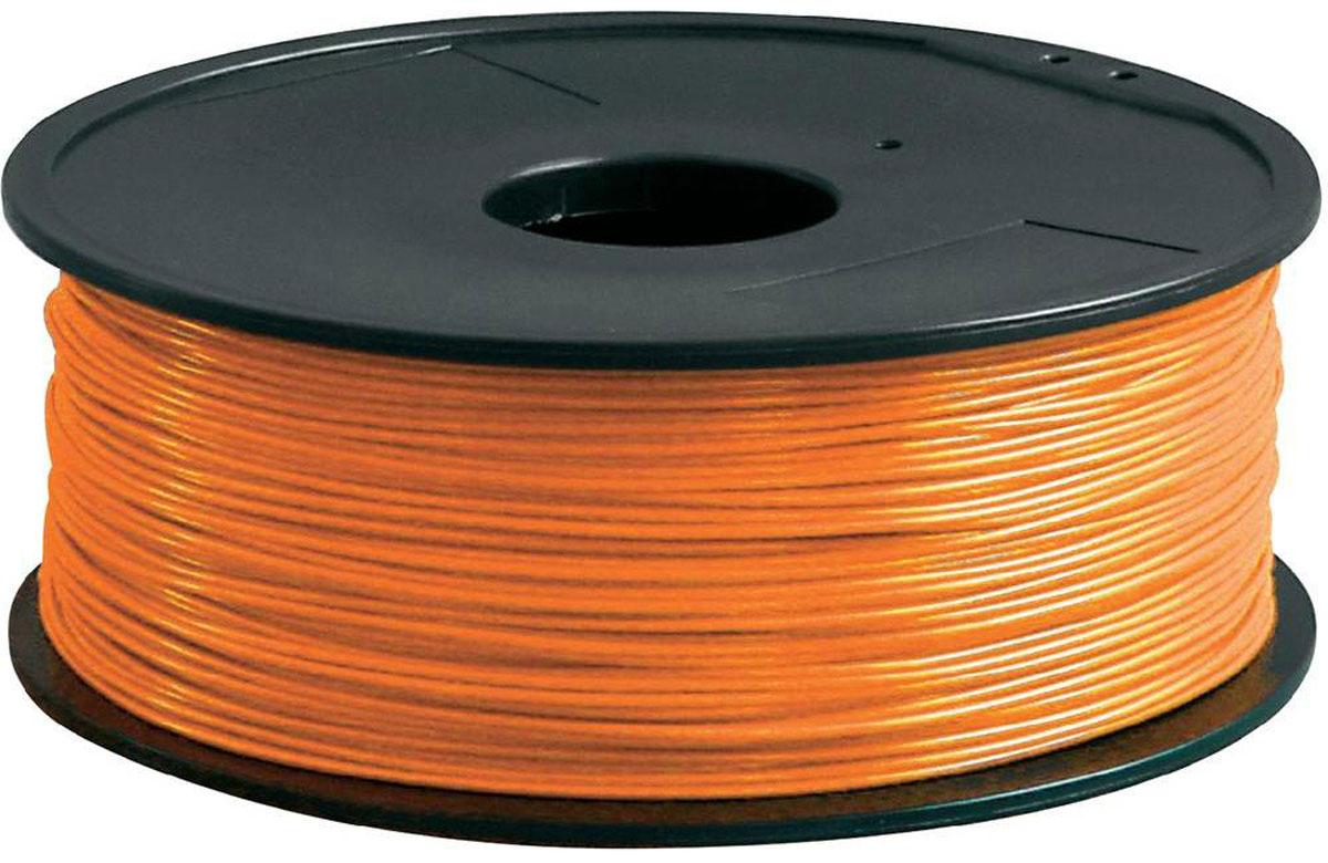 ESUN PLA-пластик в катушке, Orange (PLA175O1)PLA175O1Пластик PLA в катушке от ESUN долговечный и очень прочный полимер, ударопрочный, эластичный и стойкий к моющим средствам и щелочам. Один из лучших материалов для печати на 3D принтере. Пластик не токсичен и экологически чист. Температура плавления 190 - 220°C - ниже, чем у других материалов. PLA пластик для 3D - принтера применяется в деталях автомобилей, канцелярских изделиях, корпусах бытовой техники, мебели, сантехники, а также в производстве игрушек, сувениров, спортивного инвентаря, деталей оружия, медицинского оборудования и прочего. Диаметр нити: 1,75 мм.
