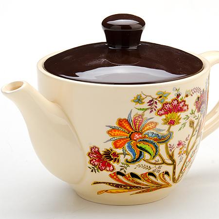 Чайник заварочный Loraine, 920 мл. 2485824858Заварочный чайникLoraine, выполненный из керамики, позволит вам заварить свежий, ароматный чай. Заварочный чайник послужит хорошим подарком для друзей и близких.