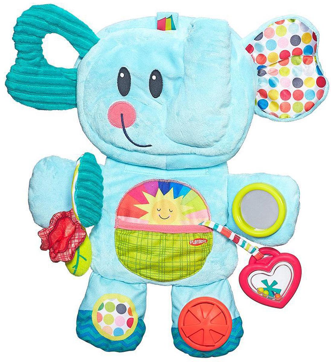 Playskool Мягкая развивающая игрушка Веселый слоник playskool веселый щенок возьми с собой