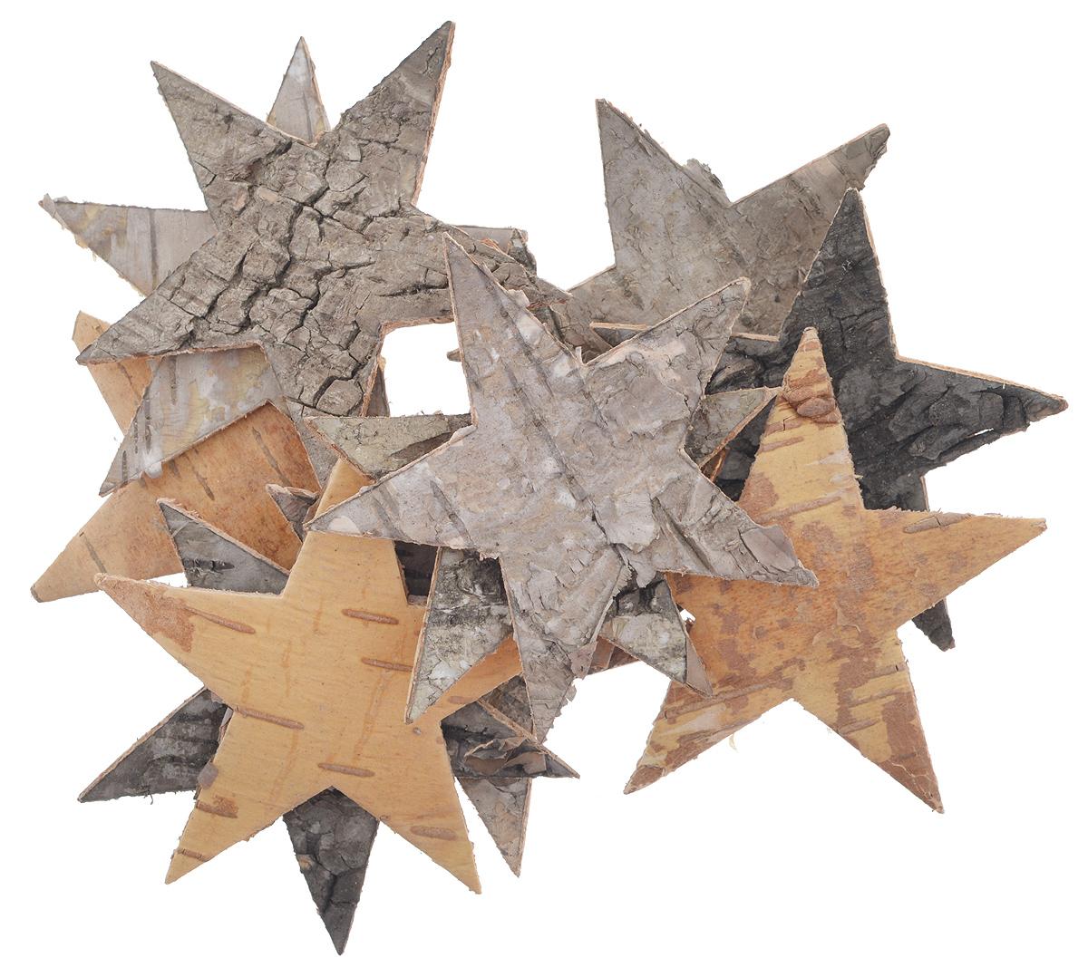 Декоративный элемент Dongjiang Art Звезда, цвет: натуральное дерево, 12 шт7709007_нат/деревоДекоративный элемент Dongjiang Art Звезда, изготовленный из натуральной коры дерева, предназначен дляукрашения цветочных композиций. Изделие выполнено в виде звезды, которое можно также использовать втехнике скрапбукинг и многом другом.Флористика - вид декоративно-прикладного искусства, который использует живые, засушенные иликонсервированные природные материалы для создания флористических работ. Это целый мир, в котором естьместо и строгому математическому расчету, и вдохновению.Размер одного элемента: 6,5 см х 5,5 см.