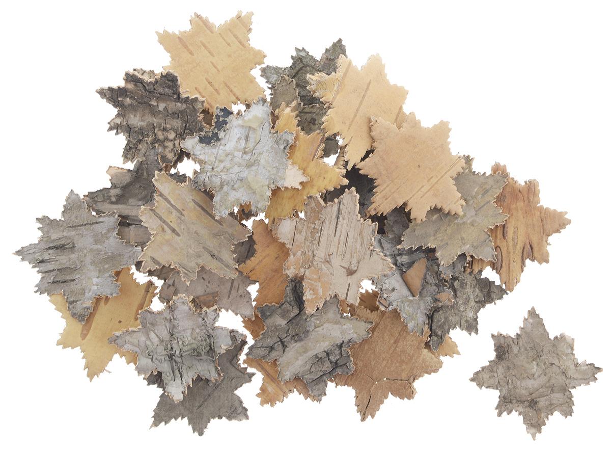 Декоративный элемент Dongjiang Art Снежинка, цвет: натуральное дерево, 30 шт7709003_нат/деревоДекоративный элемент Dongjiang Art Снежинка, изготовленный из натуральной коры дерева, предназначен дляукрашения цветочных композиций. Изделие можно также использовать в технике скрапбукинг и многом другом.Флористика - вид декоративно-прикладного искусства, который использует живые, засушенные иликонсервированные природные материалы для создания флористических работ. Это целый мир, в котором естьместо и строгому математическому расчету, и вдохновению.Размеры одного элемента: 3,5 см х 3,5 см.