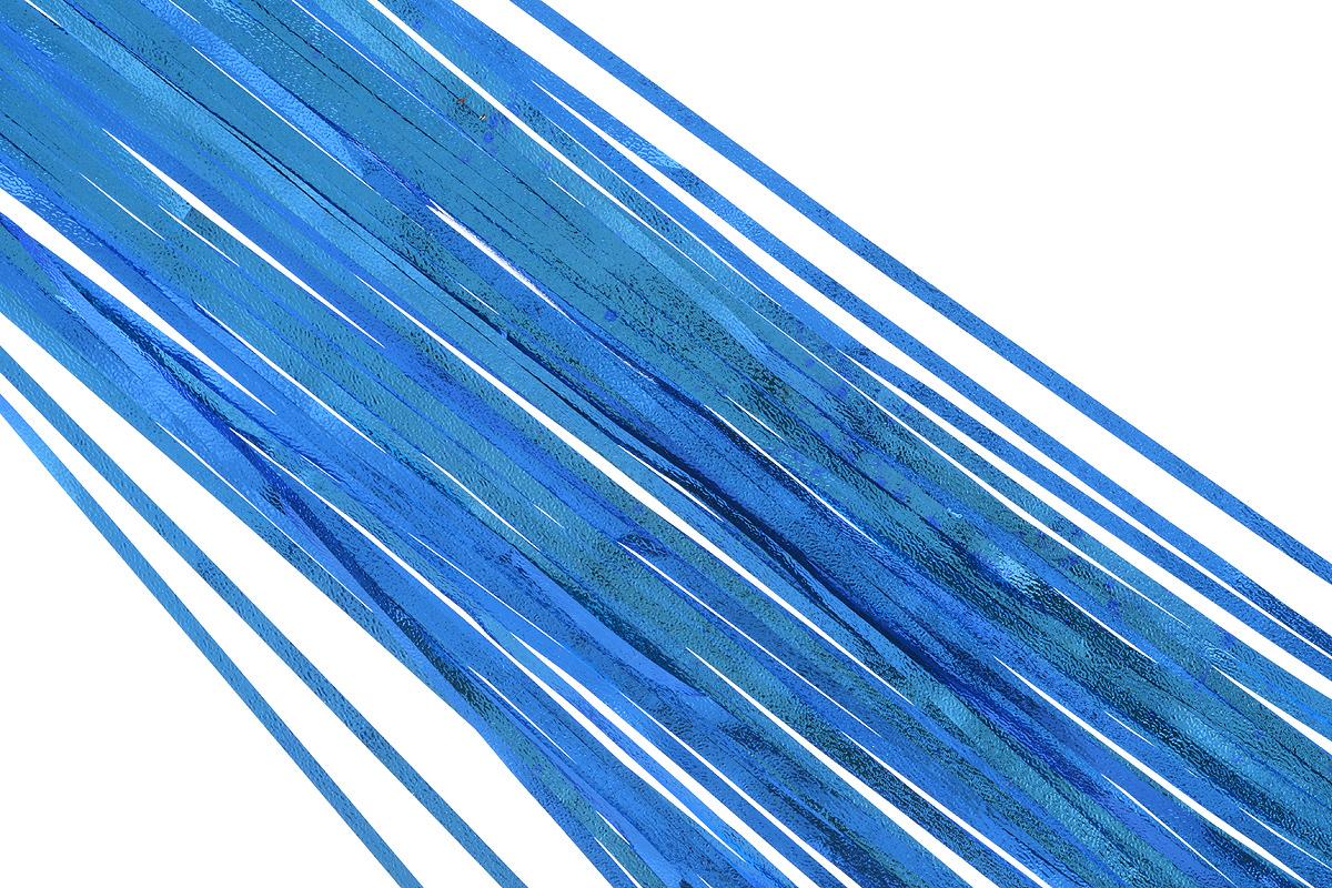 Дождик новогодний Sima-land, цвет: синий, 16 х 180 см. 702550702550_синийДождик новогодний Sima-land, изготовленный из фольги, поможет вам украсить свой дом к предстоящим праздникам. Новогодняя елка с таким украшением станет еще наряднее. Новогодним дождиком можно украсить все, что угодно - елку, квартиру, дачу, офис - как внутри, так и снаружи. Можно сложить новогодние поздравления, буквы и цифры, дождиком можно украсить и дополнить гирлянды, можно выделить дверные колонны, оплести дверные проемы.