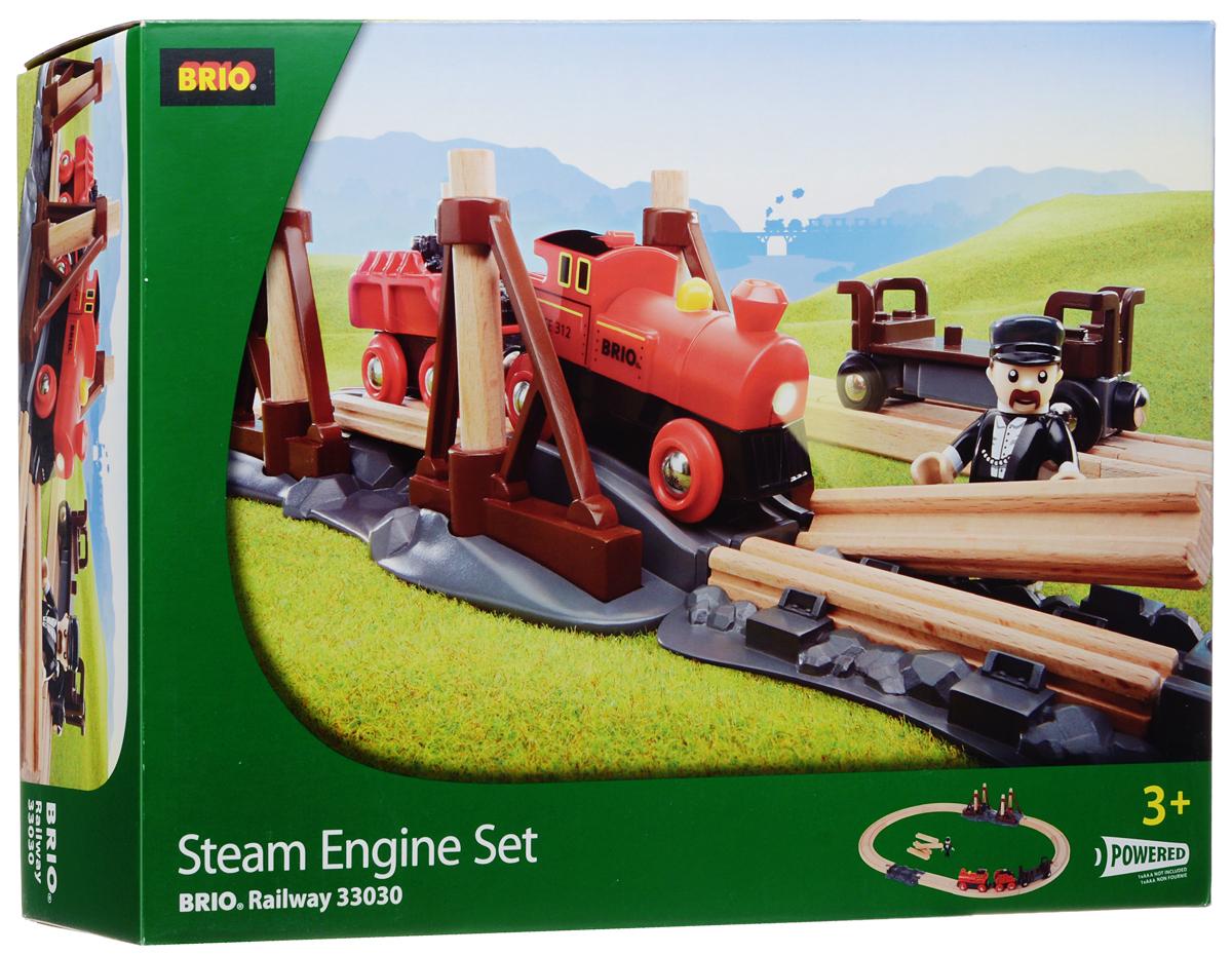 Brio Железная дорога Паровоз и строящийся мост кошка игрушка робот купить