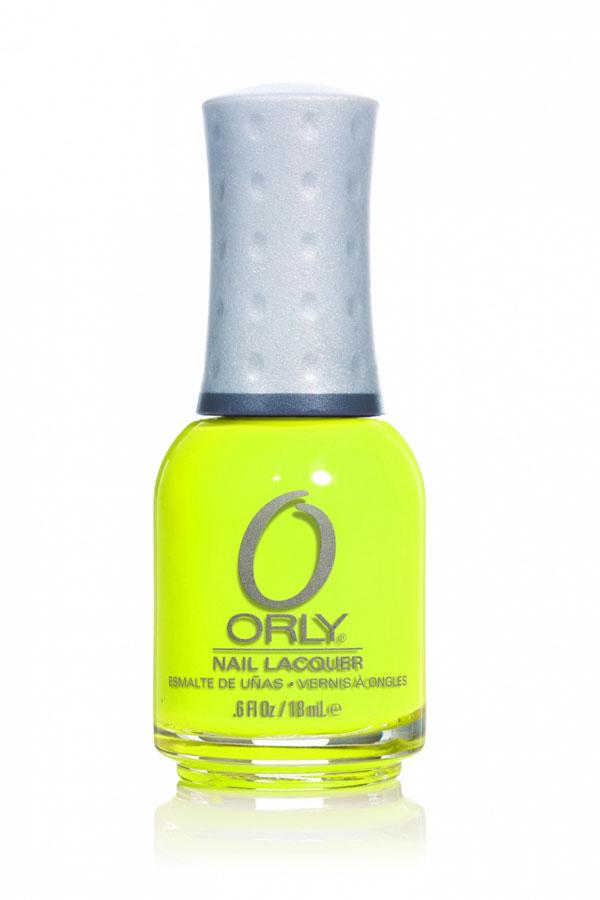 Orly Лак для ногтей Feel The Vibe, тон: № 765 Glowstick, 18 мл20765Элегантные, манящие, изысканные, чарующие - именно такие цвета составляют базовую коллекцию лаков для ногтей Orly. Широкий спектр тонов разнообразных оттенков позволяет удовлетворить самые изысканные вкусы и менять цвет ногтей хоть два раза в день. Вы можете выбрать какой угодно вариант гардероба - палитра лаков Orly позволит подобрать оттенок на любой случай и для любого настроения. Плюс ко всему приятно осознавать, что ваши ногти покрыты лаком фирмы, пользующейся репутацией одной из лучших среди специалистов ногтевого сервиса и на протяжении тридцати лет занимающейся разработкой и производством средств по уходу за натуральными ногтями. При этом останавливаться на достигнутом в Orly не собираются. Шесть изумительно-ярких цветов коллекции Feel The Vibe, созданной специально для солнечного сезона, станут отличным дополнением к необычного образу.Способ применения: нанести 1-2 слоя лака поверх базового покрытия. Завершить маникюр с помощью верхнего покрытия и сушки.Товар сертифицирован.