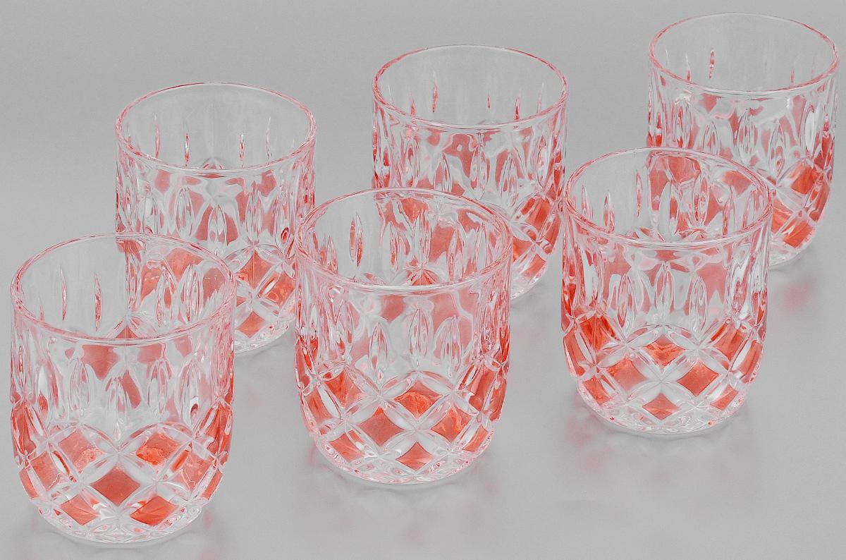 Набор стаканов Loraine, 210 мл, 6 шт20221Набор Loraine состоит из шести стаканов. Изделия выполнены из высококачественного стекла. Предметы набора имеют прозрачную поверхность и декорированы рельефными изображениями в виде ромбов. Они излучают приятный блеск и издают мелодичный звон. Набор Loraine прекрасно оформит интерьер кабинета или гостиной и станет отличным дополнением бара. Такой набор также станет хорошим подарком к любому случаю. Диаметр стакана (по верхнему краю): 7,5 см. Высота стакана: 8 см. Объем стакана: 210 мл.