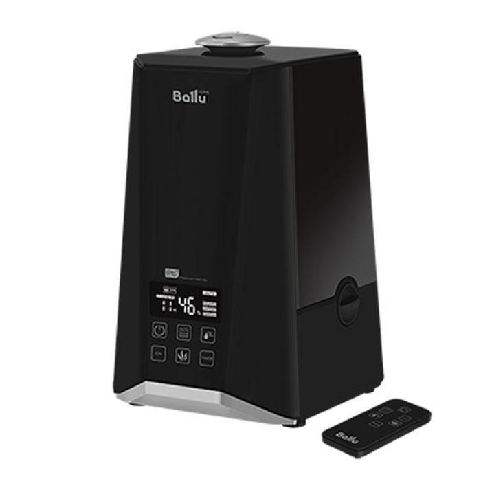 Ballu 1000-UHB увлажнитель воздухаUHB-1000Увлажнитель воздуха Ballu 1000-UHB обеспечивает мягкое увлажнение, способствует созданию благоприятного микроклимата в доме и имеет плавные формы, а также удобное и интуитивно понятное управление. Корпус увлажнителя выполнен в черном цвете.Прибор прост и удобен в эксплуатации - для увлажнения можно заливать водопроводную воду. Процесс увлажнения воздуха построен по принципу ультразвукового испарения. Вода, попадая в камеру парообразования, под воздействием ультразвука расщепляется на мельчайшие капли, которые образуют своеобразное облако пара, сквозь которое вентилятор малой мощности прогоняет воздух.