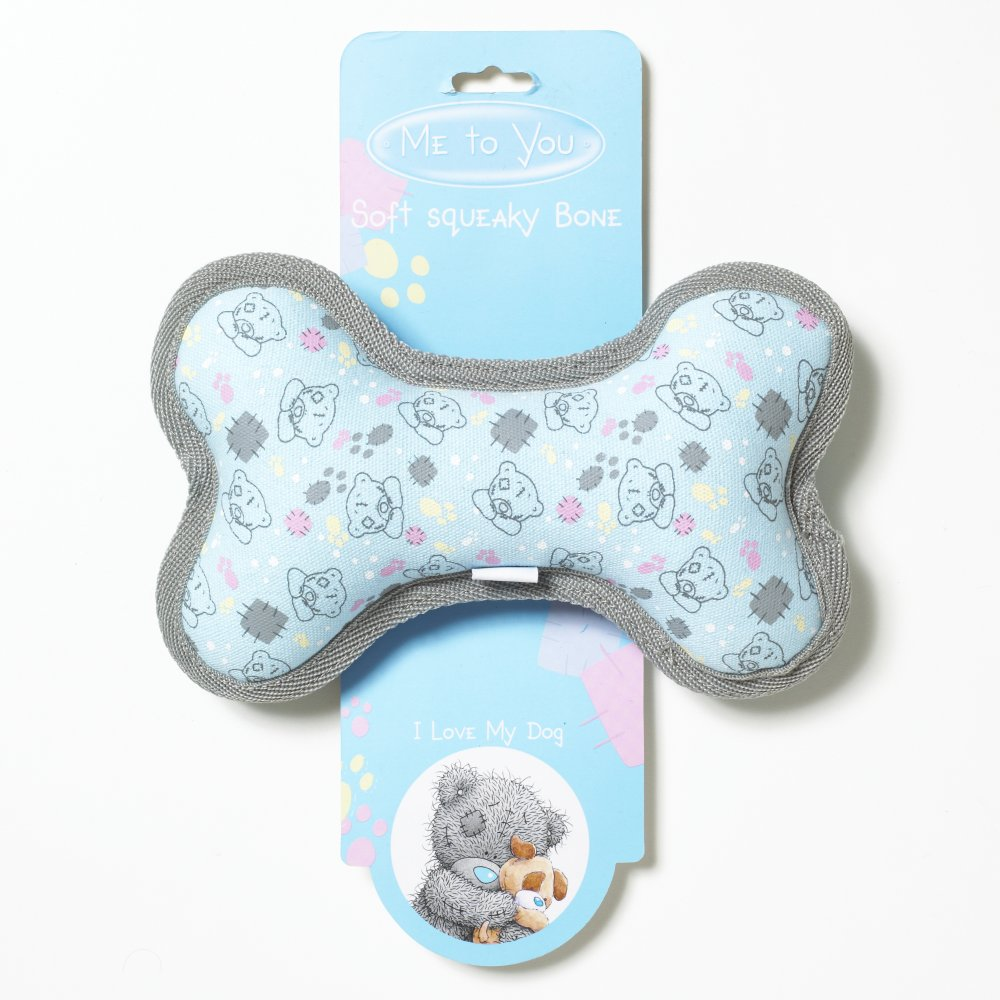 Игрушка для собак Me To You Кость-пищалка мягкая игрушка брелок me to you мишка тедди 7 5 см