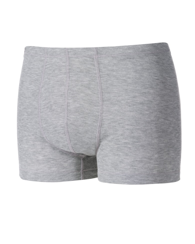 Термобелье трусы-боксеры мужские Odlo Warm, цвет: светло-серый меланж. 152062_15700. Размер S (42/44)
