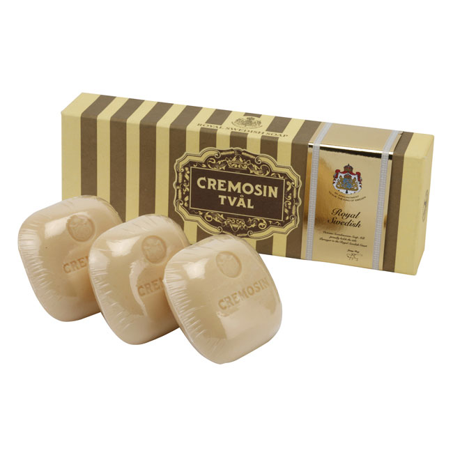 Victoria Soap Cremosin Крем-мыло для тела, 3х95 г