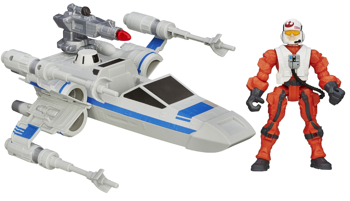 Star Wars Игровой набор Resistance X-Wing & Resistance Pilot janome memory craft 12000