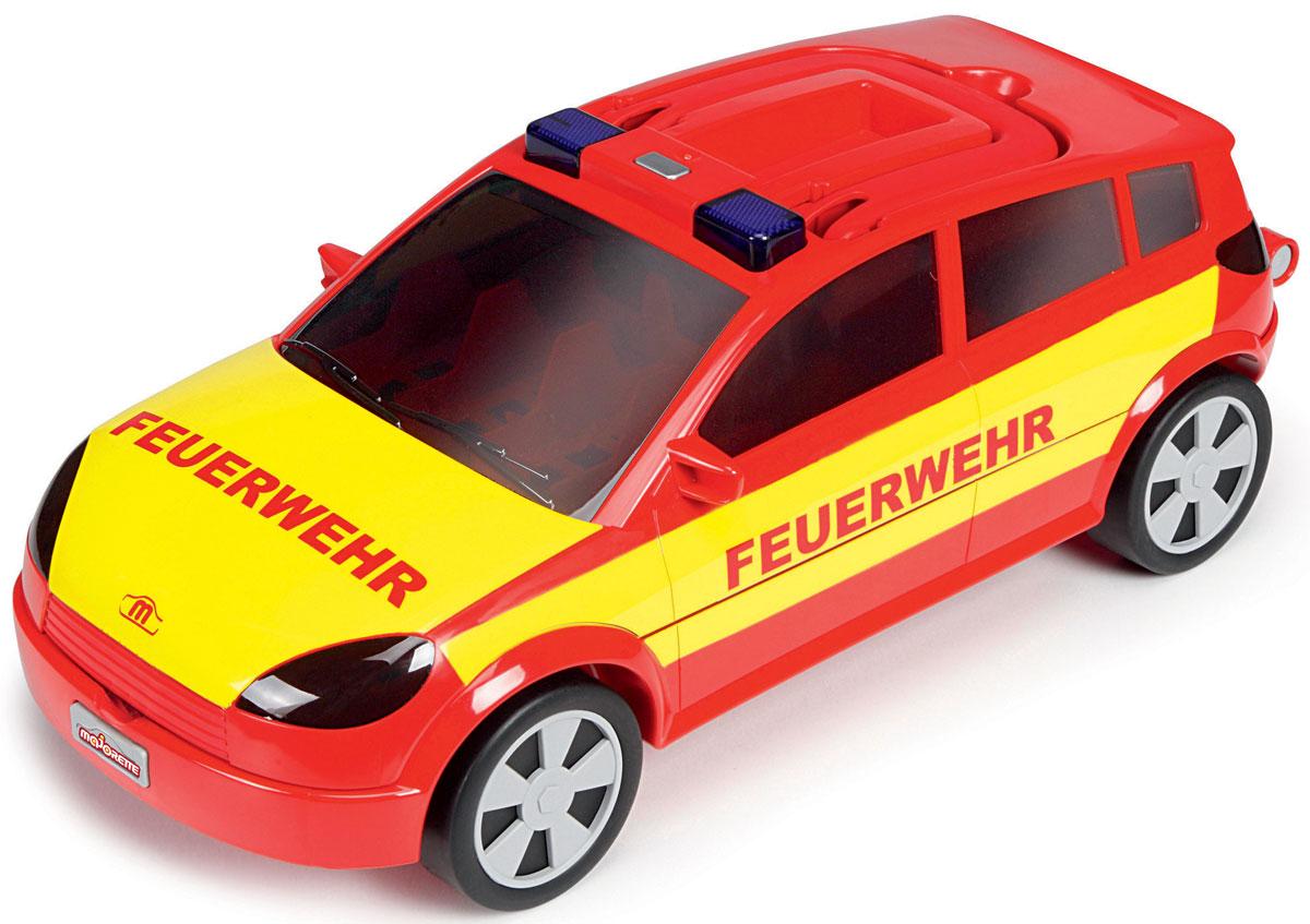 Majorette Автомобиль-кейс на 24 машинки цвет красный желтый majorette creatix игрушечный трек starter pack