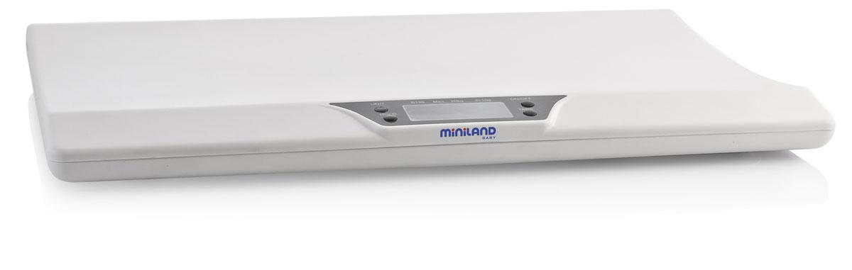 Miniland Emyscale электронные весы miniland весы детские со съемным лотком scaly up miniland