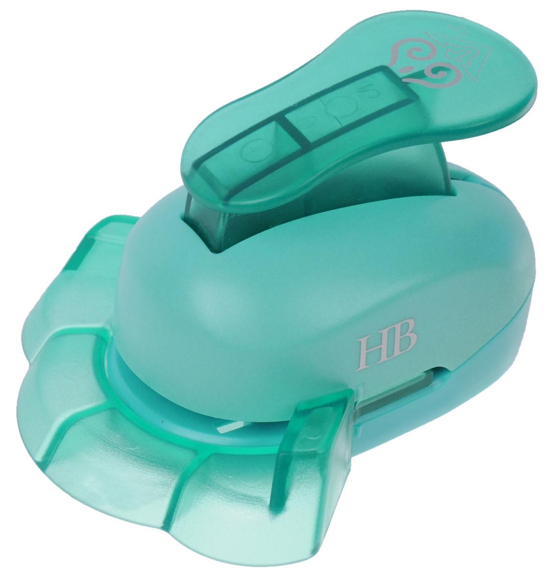 Дырокол фигурный Hobbyboom, угловой, цвет: бирюзовый, №5, 3,8 смKM-8815M-005Фигурный угловой дырокол Hobbyboom поможет вам легко, просто и аккуратно вырезать много одинаковых мелких фигурок.Режущие части компостера закрыты пластмассовым корпусом, что обеспечивает безопасность для детей. Вырезанные фигурки накапливаются в специальном резервуаре. Можно использовать вырезанные мотивы как конфетти или для наклеивания. Угловой дырокол подходит для разных техник: декупажа, скрапбукинга, декорирования. Рекомендуемая плотность бумаги - 120-180 г/м2. Размер готовой фигурки: 3,8 см х 2 см.