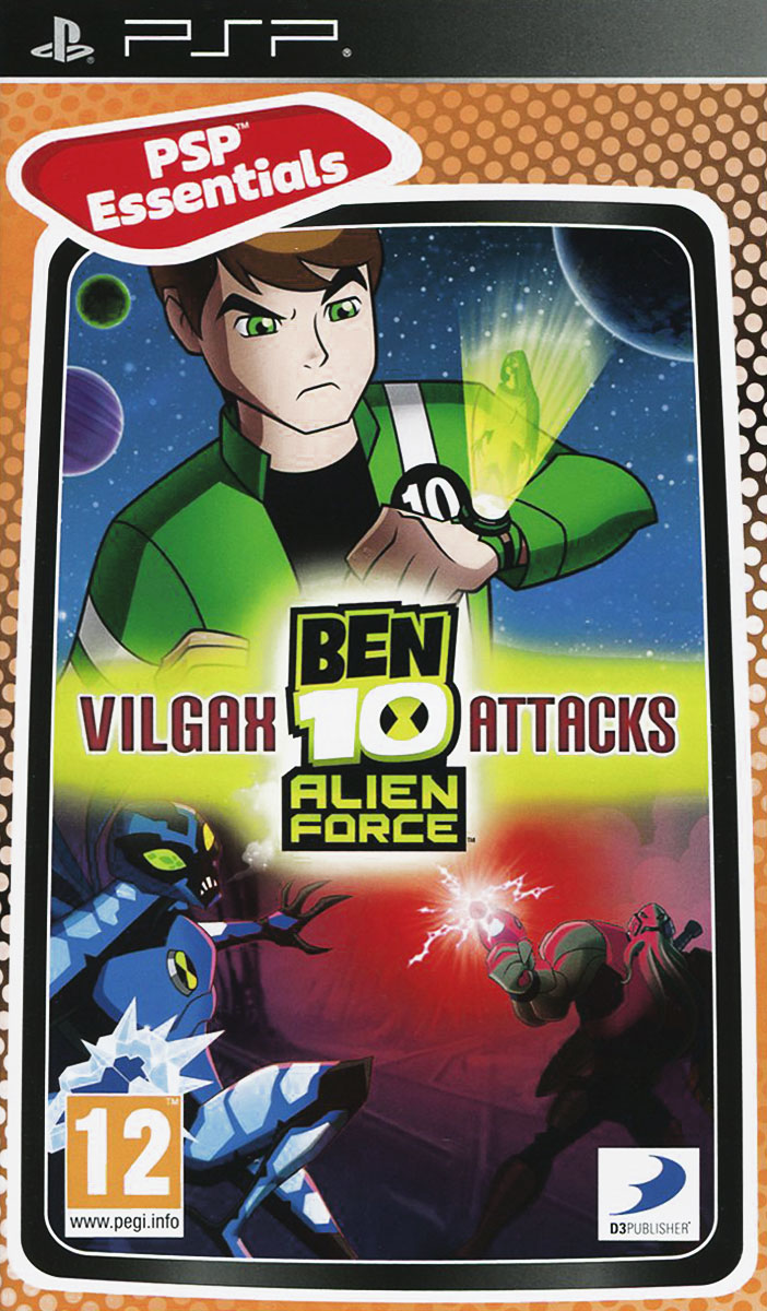 Ben 10. Alien Force Vilgax Attacks (Essentials) (PSP)