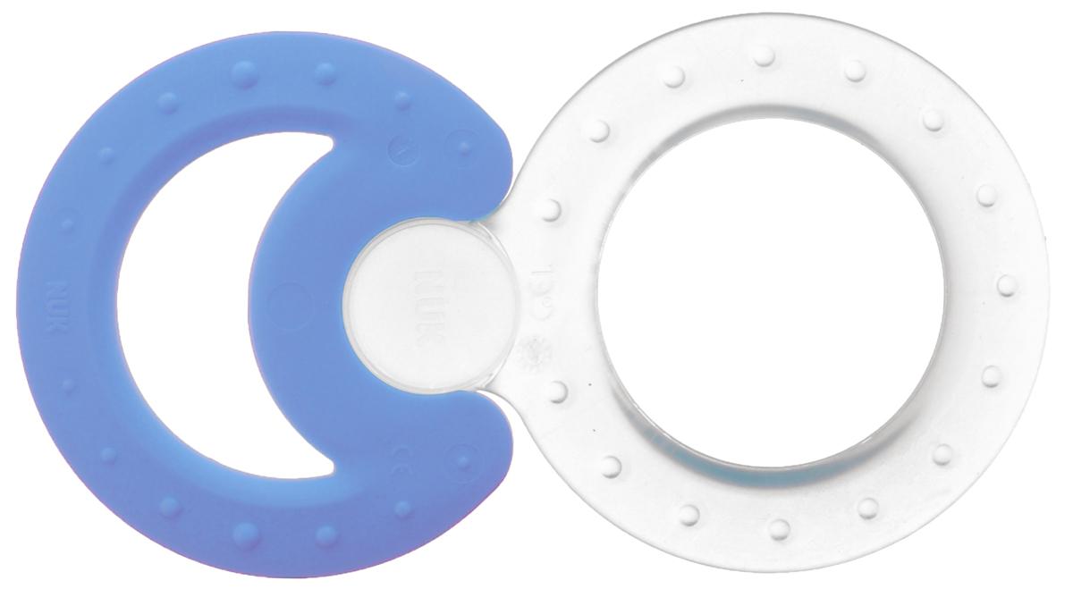 NUK Набор прорезывателей Classic and Cool 2 шт цвет прозрачный голубой nuk набор прорезывателей connect and play цвет прозрачный бирюзовый голубой 3 шт